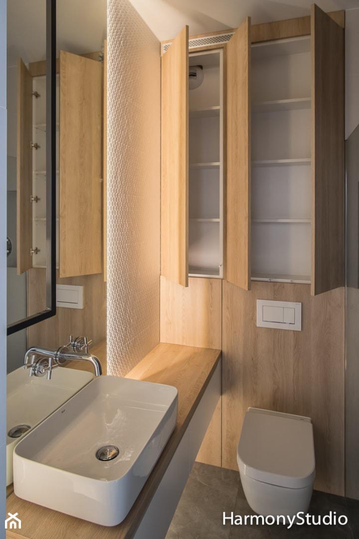 Zabudowa łazienki Zdjęcie Od Harmonystudio Kuchnie I