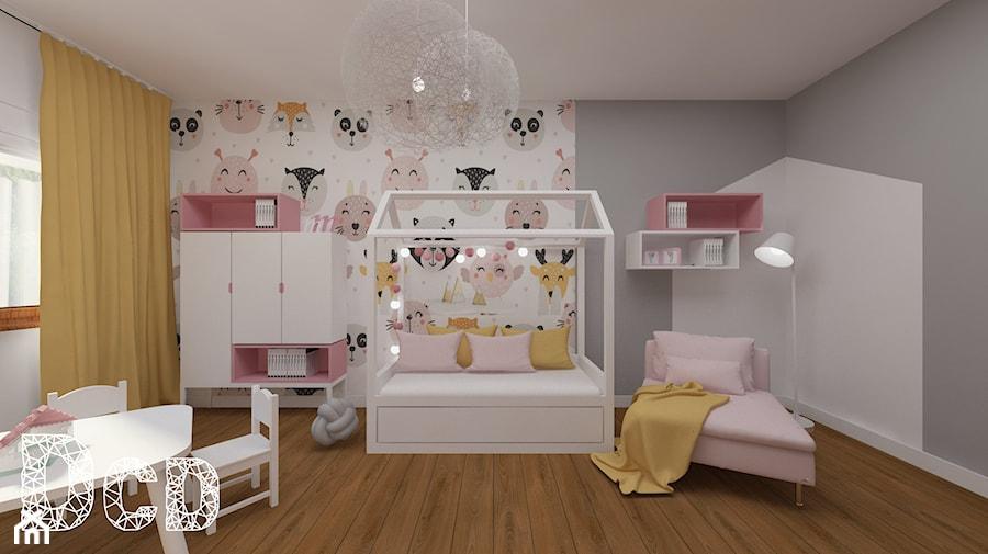 dziecięco / młodzieżowo - Pokój dziecka, styl nowoczesny - zdjęcie od Pracownia Projektowania   Daria Ciuńczyk-Duda