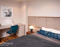 Męska sypialnia - zdjęcie od Viva Design Pracownia Projektowania Wnętrz - Homebook