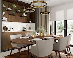 Jadalnia+-+zdj%C4%99cie+od+Viva+Design+Pracownia+Projektowania+Wn%C4%99trz