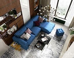 Salon+-+zdj%C4%99cie+od+Viva+Design+Pracownia+Projektowania+Wn%C4%99trz