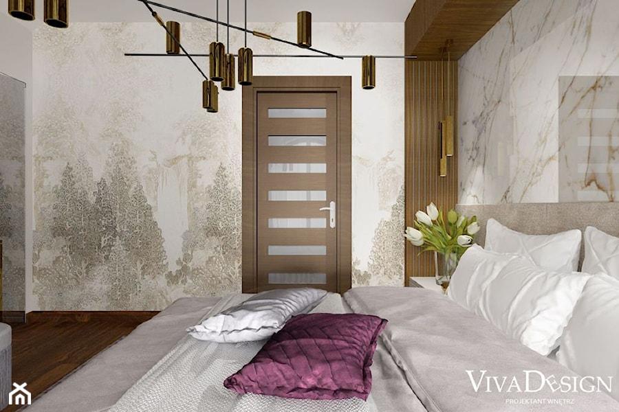 Dom pod Leżajskiem - Sypialnia, styl nowoczesny - zdjęcie od Viva Design Pracownia Projektowania Wnętrz
