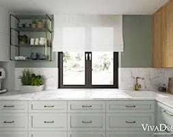 Kuchnia+-+zdj%C4%99cie+od+Viva+Design+Pracownia+Projektowania+Wn%C4%99trz
