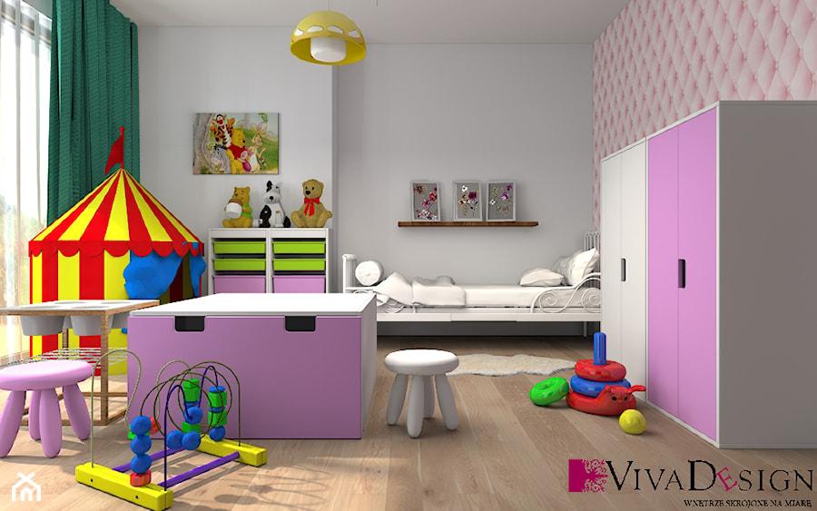 Wizualizacja Pokoju Dziecięcego Zdjęcie Od Viva Design Pracownia