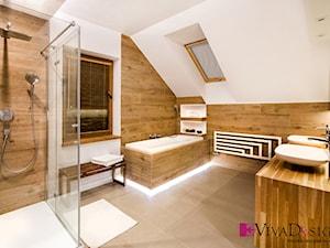 Zdjęcie łazienki (piętro) - zdjęcie od Viva Design Pracownia Projektowania Wnętrz