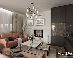 Salon - zdjęcie od Viva Design Pracownia Projektowania Wnętrz - Homebook