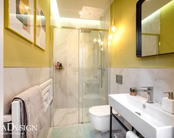 Mała łazienka - zdjęcie od Viva Design Pracownia Projektowania Wnętrz - Homebook