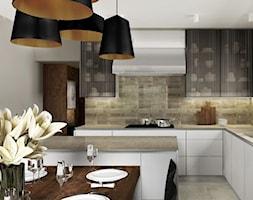 Kuchnia w barwach ziemi - zdjęcie od Viva Design Pracownia Projektowania Wnętrz - Homebook
