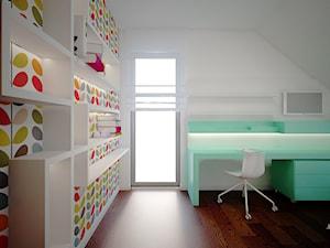 Wnętrze pokoju dziecka na Złotnie