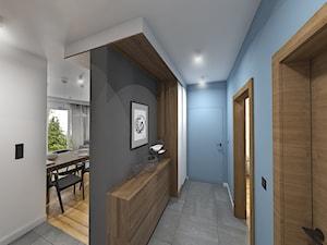 Wnętrze mieszkania na Teofilowie - Hol / przedpokój, styl skandynawski - zdjęcie od Tu architekci