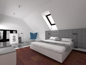 Wnętrze sypialni na Złotnie