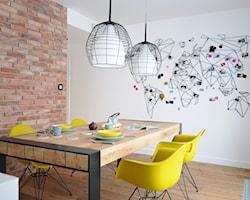 Jadalnia z prostokątnym stołem - pomysły, aranżacje, inspiracje
