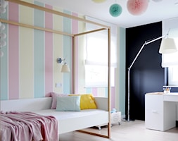 D74 DOM W TARNOWSKICH GÓRACH - Średni pokój dziecka dla dziewczynki dla nastolatka, styl nowoczesny - zdjęcie od WIDAWSCY STUDIO ARCHITEKTURY