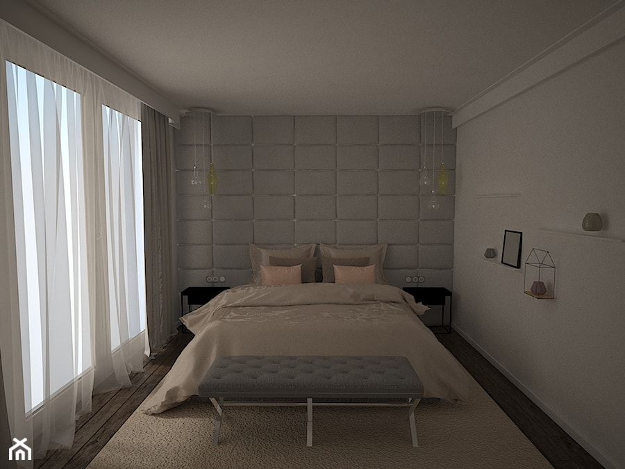 Nowoczesna sypialnia - zdjęcie od AM Design Studio