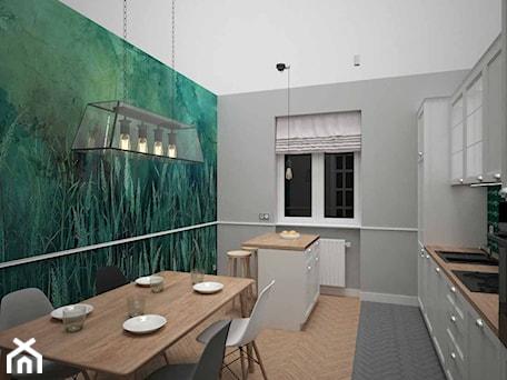 Aranżacje wnętrz - Kuchnia: KUCHNIA W STAREJ KAMIENICY - AM Design Studio. Przeglądaj, dodawaj i zapisuj najlepsze zdjęcia, pomysły i inspiracje designerskie. W bazie mamy już prawie milion fotografii!
