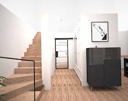 SUCHY LAS - Hol / przedpokój, styl nowoczesny - zdjęcie od AM Design Studio - Homebook