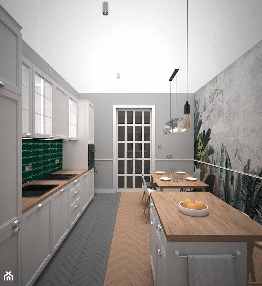 KUCHNIA W STAREJ KAMIENICY - zdjęcie od AM Design Studio