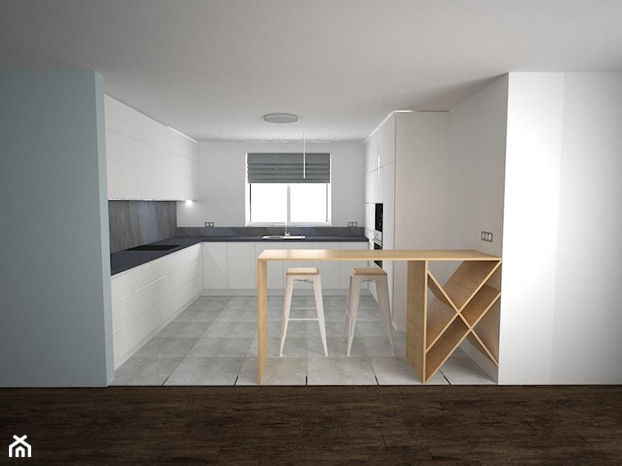 UZARZEWO - Kuchnia, styl minimalistyczny - zdjęcie od AM Design Studio