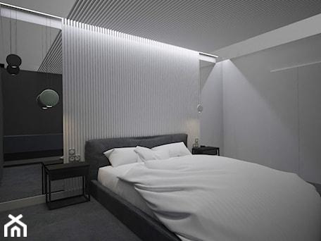 Aranżacje wnętrz - Sypialnia: SYPIALNIA MINIMAL - Sypialnia, styl minimalistyczny - AM Design Studio. Przeglądaj, dodawaj i zapisuj najlepsze zdjęcia, pomysły i inspiracje designerskie. W bazie mamy już prawie milion fotografii!