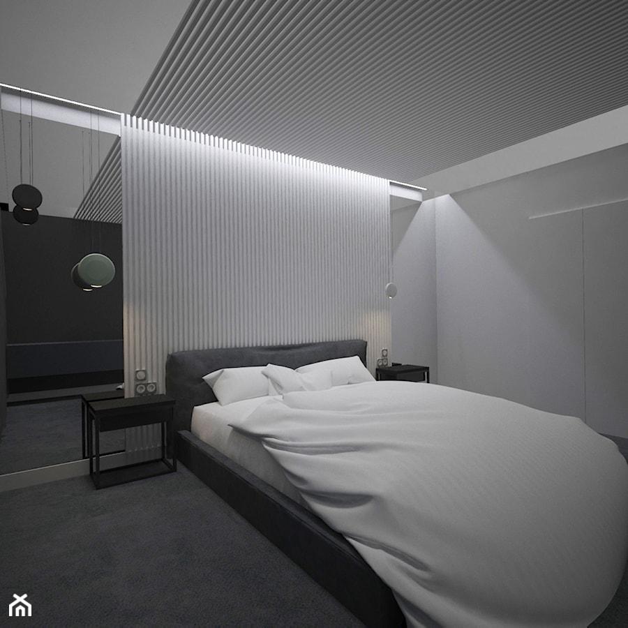 SYPIALNIA MINIMAL - Sypialnia, styl minimalistyczny - zdjęcie od AM Design Studio