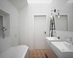 SUCHY LAS - Łazienka, styl nowoczesny - zdjęcie od AM Design Studio - Homebook