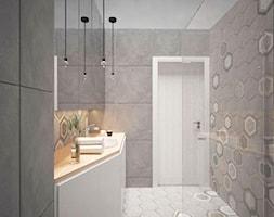 PASTELOVE POZNAŃ - Łazienka, styl nowoczesny - zdjęcie od AM Design Studio - Homebook