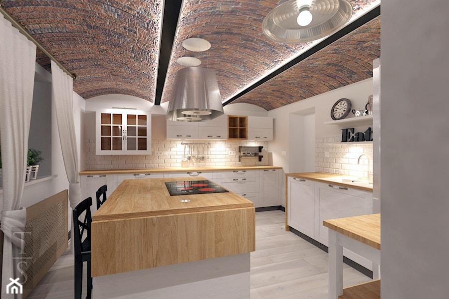 Kuchnia Z Duszą Projekt Zdjęcie Od Trykowska Studio