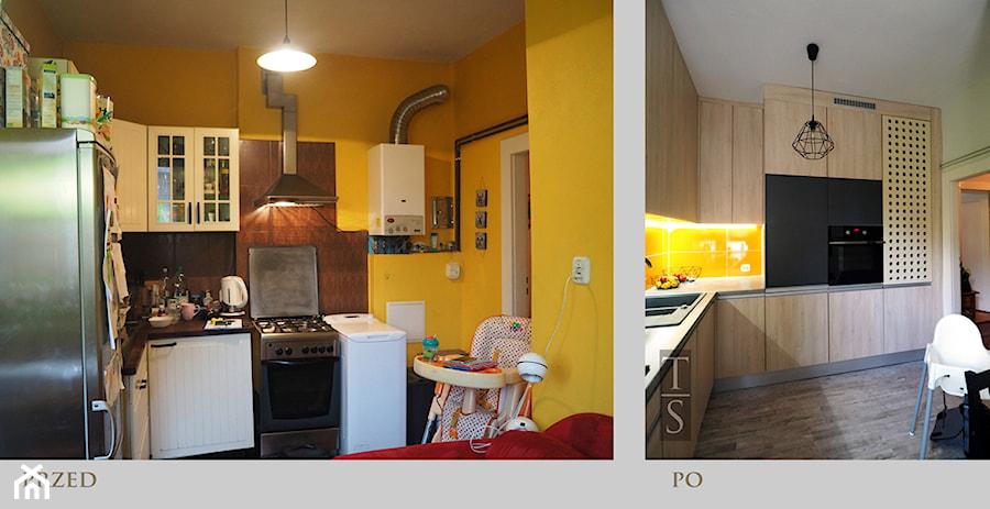 Energetyczna Kuchnia Przed I Po Zdjęcie Od Trykowska