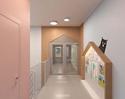 """Szkoła prywatna """"Łobuziaki"""" - Wnętrza publiczne, styl nowoczesny - zdjęcie od Pracownia Projektowa """"Interior-Art"""" - Homebook"""
