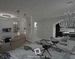 """Rezydencja Strzegom - Jadalnia, styl art deco - zdjęcie od Pracownia Projektowa """"Interior-Art"""" - Homebook"""