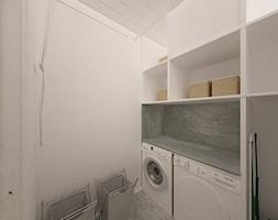 """Dom w Ozorzycach - Mała garderoba, styl nowoczesny - zdjęcie od Pracownia Projektowa """"Interior-Art"""""""