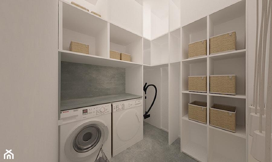 """Dom w Ozorzycach - Średnia garderoba, styl nowoczesny - zdjęcie od Pracownia Projektowa """"Interior-Art"""""""