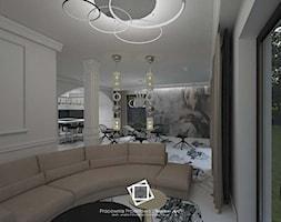 """Rezydencja Strzegom - Salon, styl art deco - zdjęcie od Pracownia Projektowa """"Interior-Art"""" - Homebook"""