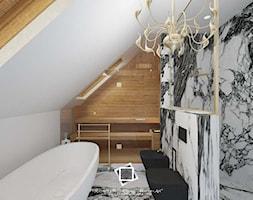 """Rezydencja Strzegom - Łazienka, styl art deco - zdjęcie od Pracownia Projektowa """"Interior-Art"""" - Homebook"""