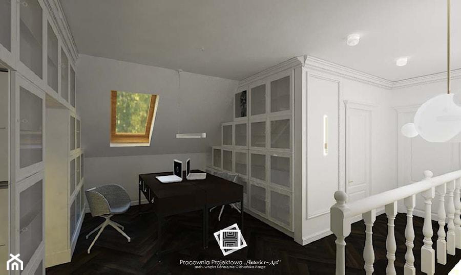 """Rezydencja Strzegom - Biuro, styl art deco - zdjęcie od Pracownia Projektowa """"Interior-Art"""""""