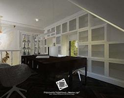"""Rezydencja Strzegom - Biuro, styl art deco - zdjęcie od Pracownia Projektowa """"Interior-Art"""" - Homebook"""