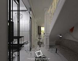 """Rezydencja Strzegom - Hol / przedpokój, styl art deco - zdjęcie od Pracownia Projektowa """"Interior-Art"""" - Homebook"""