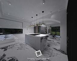 """Rezydencja Strzegom - Kuchnia, styl art deco - zdjęcie od Pracownia Projektowa """"Interior-Art"""" - Homebook"""