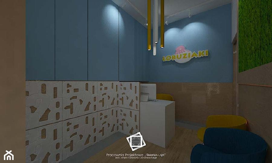 """Szkoła prywatna """"Łobuziaki"""" - Wnętrza publiczne, styl nowoczesny - zdjęcie od Pracownia Projektowa """"Interior-Art"""""""