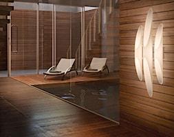 Trendy 2018 - Taras z tyłu domu z basenem, styl nowoczesny - zdjęcie od Galeria Wnętrz Domar