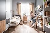 minimalistyczny pokój dziecka, pokój dziecka w stylu skandynawskim