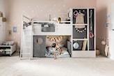 łóżko piętrowe, pokój dziecka w stylu skandynawskim