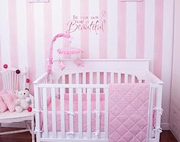 Kolekcja różowo-białe paski - zdjęcie od Roomee Decor