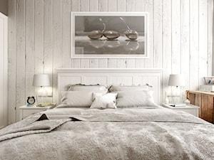 EKLEKTYCZNY DOM - Mała sypialnia małżeńska, styl eklektyczny - zdjęcie od PEKA STUDIO