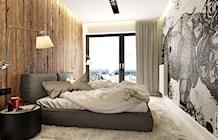 Sypialnia styl Industrialny - zdjęcie od PEKA STUDIO