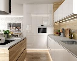 Kuchnia Z Drewnianą Podłogą Aranżacje Pomysły Inspiracje Homebook