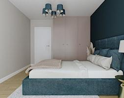 Sypialnia w kobiecym stylu - Sypialnia, styl nowoczesny - zdjęcie od KJ Studio Projektowanie wnętrz - Homebook