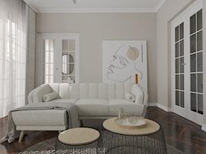 Salon i sypialnia w stylu francuskim