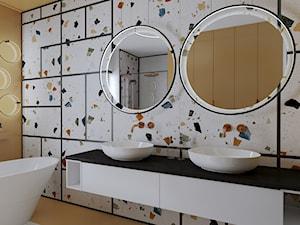 Łazienka w stylu lastryko