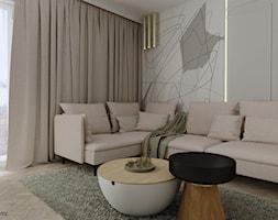 Salon w stylu modern classic - Salon, styl nowoczesny - zdjęcie od KJ Studio Projektowanie wnętrz - Homebook